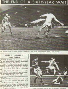 Celtic 2 Rangers 1 in Jan 1972 at Parkhead. Action from Celtic's first double over Rangers since 1912 #ScotDiv1