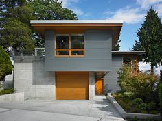 love this house in leschi - Adams Mohler Ghillino architects