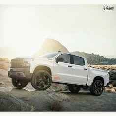 This specific car is my dream car. Custom Pickup Trucks, Chevy Pickup Trucks, Gm Trucks, Chevrolet Trucks, Diesel Trucks, Chevrolet Silverado, Cool Trucks, New Silverado, Chevy Vehicles