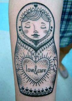 Dotwork sweetness by Dex of Soul Tattoo, Brazil.