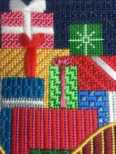 490 Best Needlepoint images in 2020 Needlepoint Stitches, Needlepoint Patterns, Needlepoint Canvases, Needlework, Needlepoint Christmas Stockings, Christmas Embroidery, Bargello Patterns, Little Stitch, Plastic Canvas Patterns