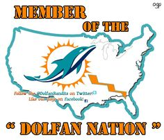 Miami Dolphins Fanpage added a new photo. Pro Football Teams, Football Is Life, Sports Teams, Miami Dolphins Memes, Dolphin Fin, Dolphin Quotes, Dolphins Cheerleaders, Colleges In Florida, Fin Fun