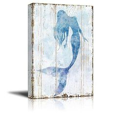 Canvas Wall Art Mermaid Picture on Vintage Background Rustic Artwork Modern Giclee Print Gallery Wrap Home Decor Ready to Hang 24 x 36 * Details can be found by clicking on the image. (This is an affiliate link) Mermaid Images, Mermaid Pictures, Mermaid Art, Baby Mermaid, Canvas Frame, Canvas Wall Art, Canvas Prints, Art Prints, Canvas Pictures