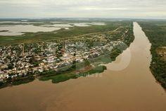 Foto aérea costa Santa Fe