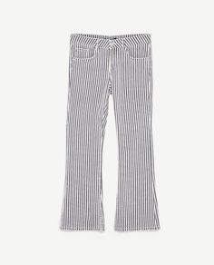 Image 8 of STRIPED TROUSERS from Zara