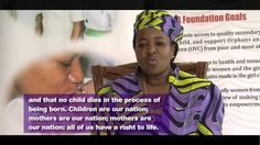 """Mama Salma Kikwete- Tanzania's First Lady Supports """"Stand Up for African..."""