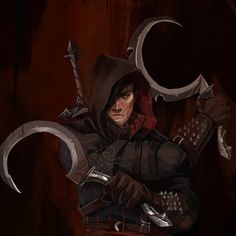 Character Concept, Character Art, Concept Art, Witcher Art, The Witcher, Fantasy Rpg, Dark Fantasy, Dnd Characters, Fantasy Characters