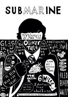 SUBMARINE MOVIE Quotes/Lyrics Compilation Poster Mais