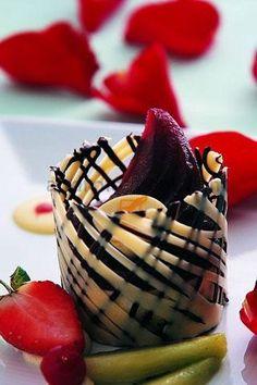 Gourmet Chocolate Desserts | Gourmet Dessert Presentation Filed under uncategorized