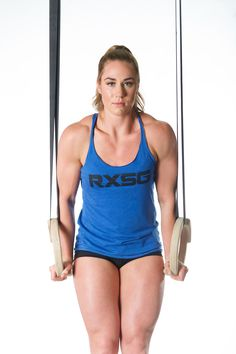 The Rx Smart Ring is a cutting edge tool developed to assist athletes in training the false grip for muscle ups. | Brooke Wells