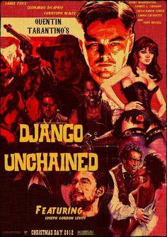 Django Unchained (Quentin Tarantino) Leonardo DiCaprio, Jamie Foxx, Christoph Waltz, Samuel L. Jackson,
