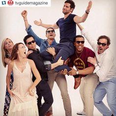 #Repost @tvguidemagazine with @repostapp. ・・・ Thank Grimm it's Friday! Season 5…