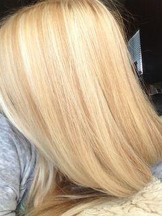 Light blonde with high lights