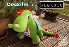 Nähanleitungen Kind - Aleksio eBook Drache - in zwei Größen - ein Designerstück von Aleksio bei DaWanda