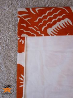 step by step instructions on how to make professional lined curtain panels- great when in need of multiple panels & for longer curtains without too much cost!