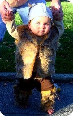 baby viking costume!
