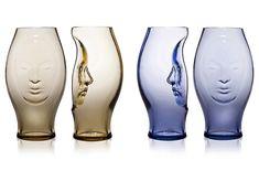 Murana, Hand Blown Glass Vases by Fabio Novembre