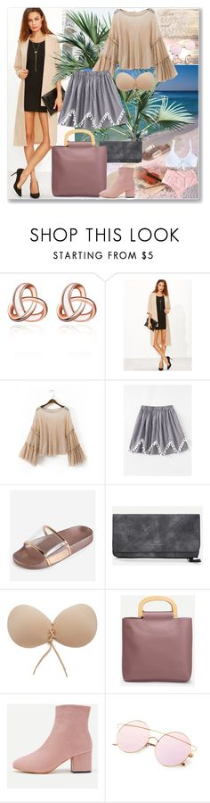"""www.romwe.com-XLVII-3"" by ane-twist ❤ liked on Polyvore featuring romwe, outfits and sumer"