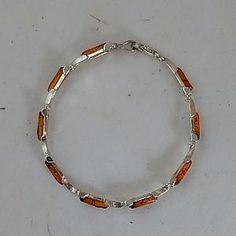 Genuine Baltic Amber Sterling Silver Bracelet - gaia rising metaphysical