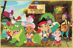 jake+and+the+neverland+pirates | Jake and the Neverland Pirates - Cast Pictures: Posters at ...