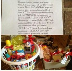 My friend just bought a house. I'm going to do this for her Housewarming Gift.