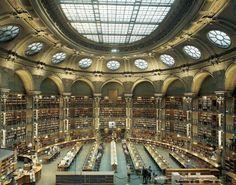 100 endroits insolites à Paris - Paris zig zag (Le site Richelieu de la BNF - © Jean-Christophe Ballot)