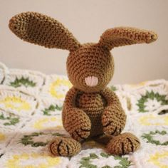 Babys erste Bunny häkeln PDF Pattern bildet von craftyladyleah, $3.75, crochet pattern, Häkelanleitung, Hase gehäkelt, Baby