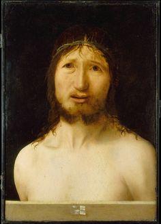 Antonello da Messina (Antonello di Giovanni d'Antonio) | Christ Crowned with Thorns | The Metropolitan Museum of Art