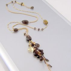 NINA ROSSI JEWELRY - Vibrant feather necklace