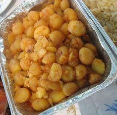 Portuguese Roasted Potatoes.