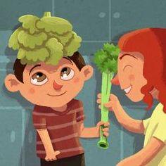 """""""EL NEN QUE NOMÉS MENJAVA ESPAGUETIS"""". Conte per explicar als infants què és una alimentació saludable."""