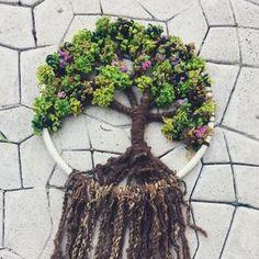 """11 Me gusta, 1 comentarios - Fieltros Cristi Almazan (@fieltroscristi) en Instagram: """"Árbol de la vida en técnicas de telar! todos los jueves y sábados taller!!! #treeoflife…"""""""