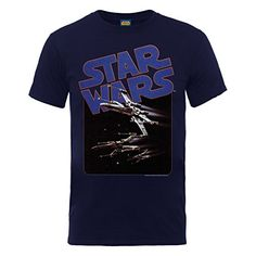 Star Wars Fighters - Camiseta con manga corta para hombre, color blue (navy), talla xl #camiseta #friki #moda #regalo