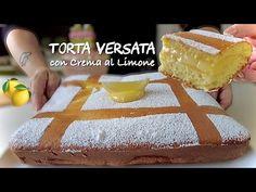 Κέικ χύνεται με κρέμα λεμονιού 🍋 εύκολη συνταγή - YouTube Lemon Custard, Custard Cake, Italian Cake, Torte Cake, Cake Factory, Cheesecake Cake, Chocolate Hearts, Lemon Cream, Sweet Bread
