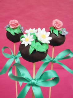Cupcakes a diario: Mis primeros Cake pops y mi locura Breakfast at Tiffany´s...