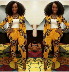 Love this Ankara suit