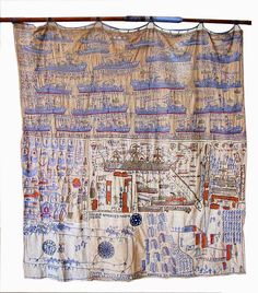 The conjectural science of the subject (Arthur Bispo do Rosário (Japaratuba, Sergipe,. Textile Fiber Art, Textile Artists, Coastal Quilts, Art Brut, Textiles, Yarn Bombing, Nautical Art, Sewing Art, Arte Popular