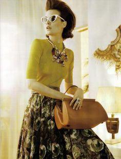 Shalom Harlow, Vogue UK