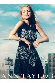 Kate Hudson for Ann Taylor