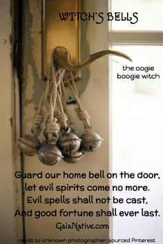 Bell spell for a house