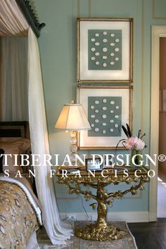 Love the framed intaglios from Tiberian Design