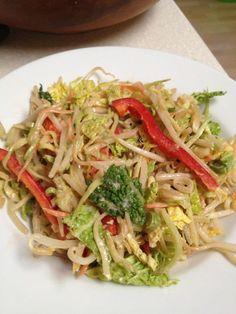 Raw Vegan Chow Mein