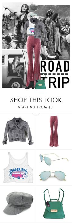 """""""2017: Road Trippy"""" by rockerchick21 ❤ liked on Polyvore featuring Cheap Monday, Sans Souci, Polaroid, Zac Posen, Isabel Marant and vintage"""
