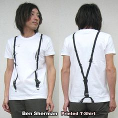 Rakuten: The Ben Sherman ben sherman S/S T-SHIRT print T-shirt (suspender) new arrival!- Shopping Japanese products from Japan