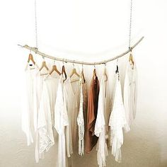 1000 ideas about portant vetement on pinterest wardrobe - Portant en bois vetement ...