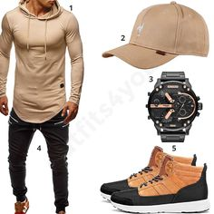 Lässiger Street-Style mit High-Top Sneakern (m0476) #hoodie #jeans #cap #diesel #chronograph #hightopsneaker #outfit #style #fashion #menswear #mensfashion #inspiration #shirt #cloth #clothing #männermode #herrenmode #shirt #mode #styling #sneaker #menstyle