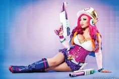 Arcade Miss Fortune cosplay by Yaya Han. Photograph by Pixelette Photography.   See more of my #costumes and creations at YayaHan.com