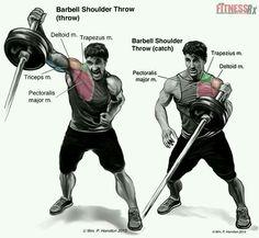 Barbell Shoulder Throw