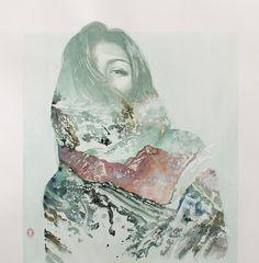 Greydy | Blendscapes watercolor 50x50cm 2012 Oriol Angrill Jordà