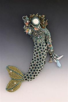 Beaded Art Dolls - Turtle Dreams - Beaded Jewelry and Art Dolls